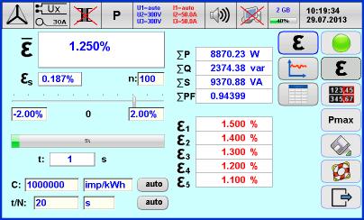 TE30 Error Testing
