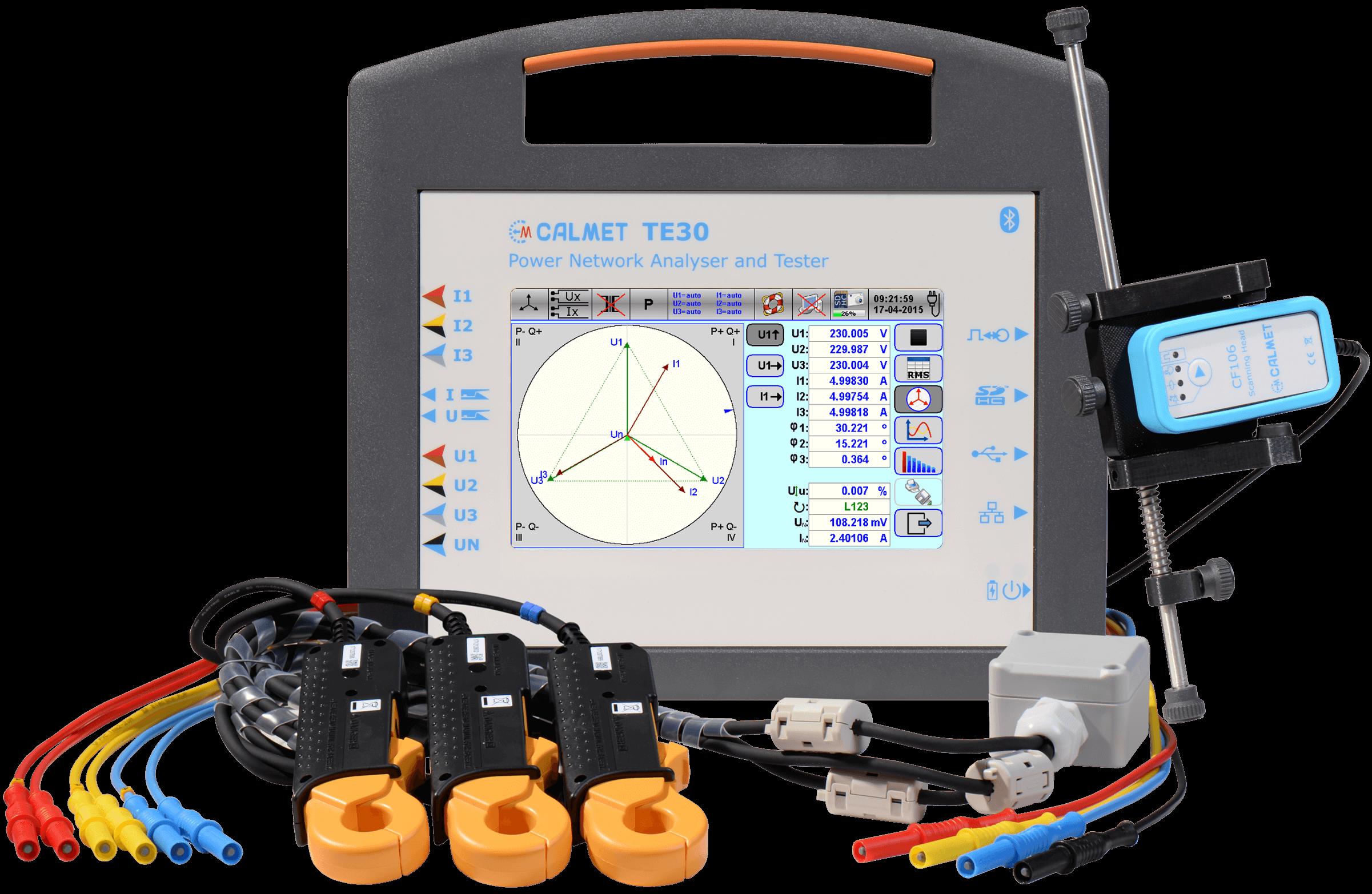 Three Phase Network Analyser, Meter & Instrument Transformer Tester Tester