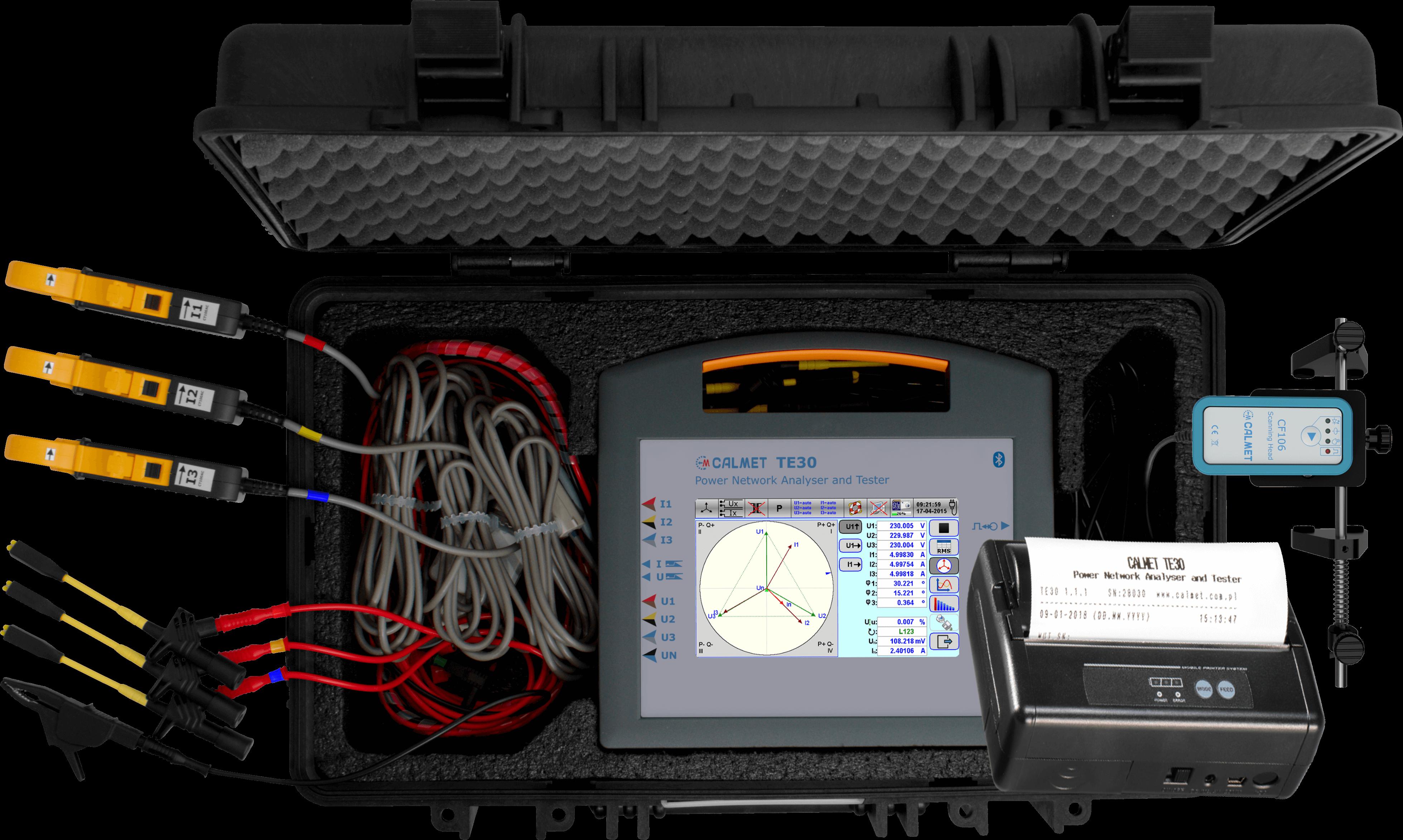TE30 wth Bluetooth printer